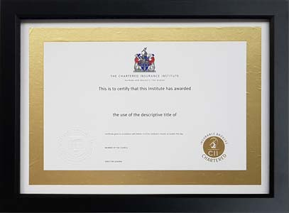 The Professional Framing Company - Frames for The Chartered ...