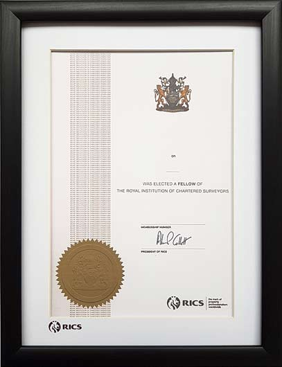 The Professional Framing Company - Frames for The Royal Institution ...